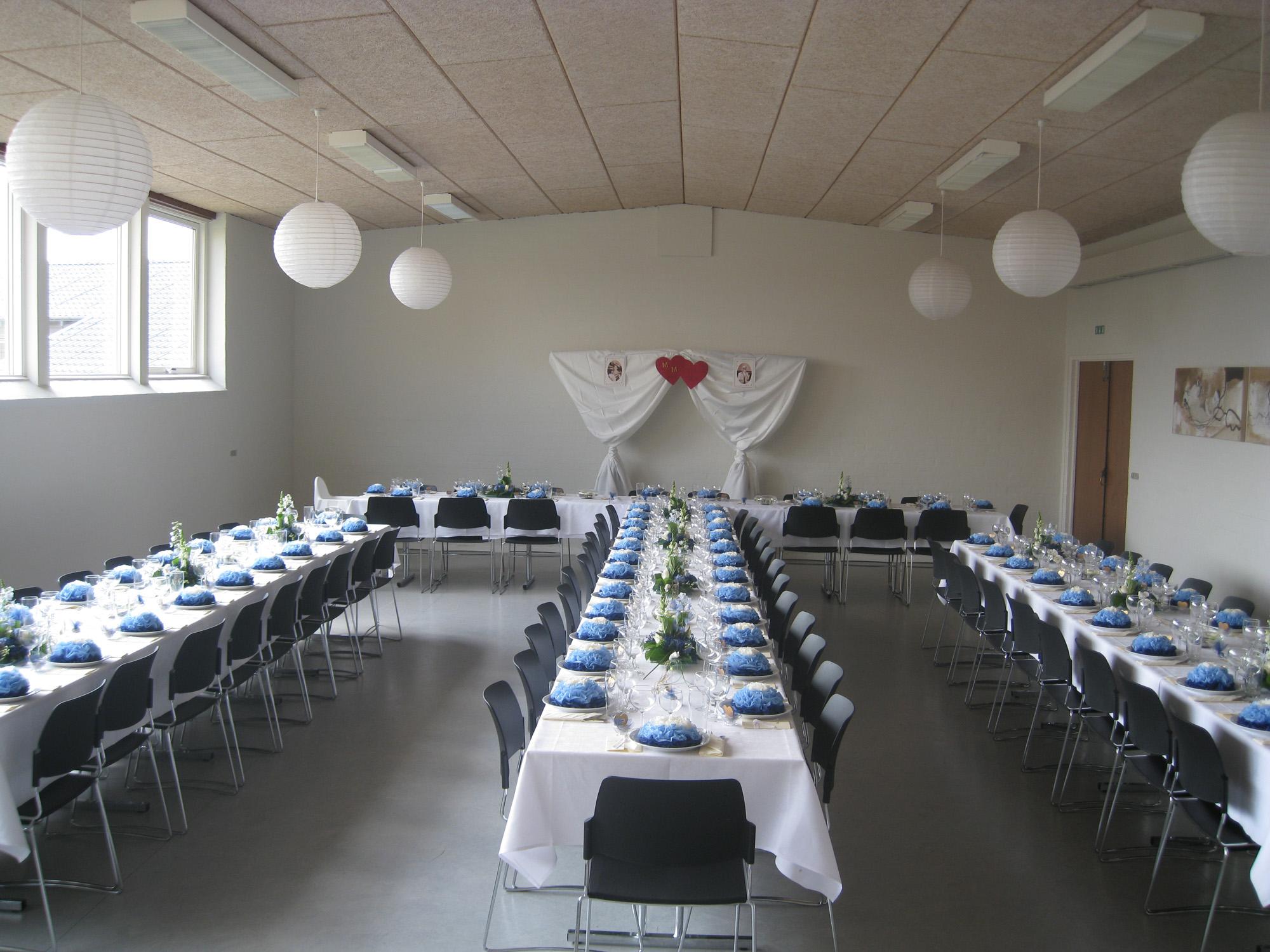 Festsal til 110 personer