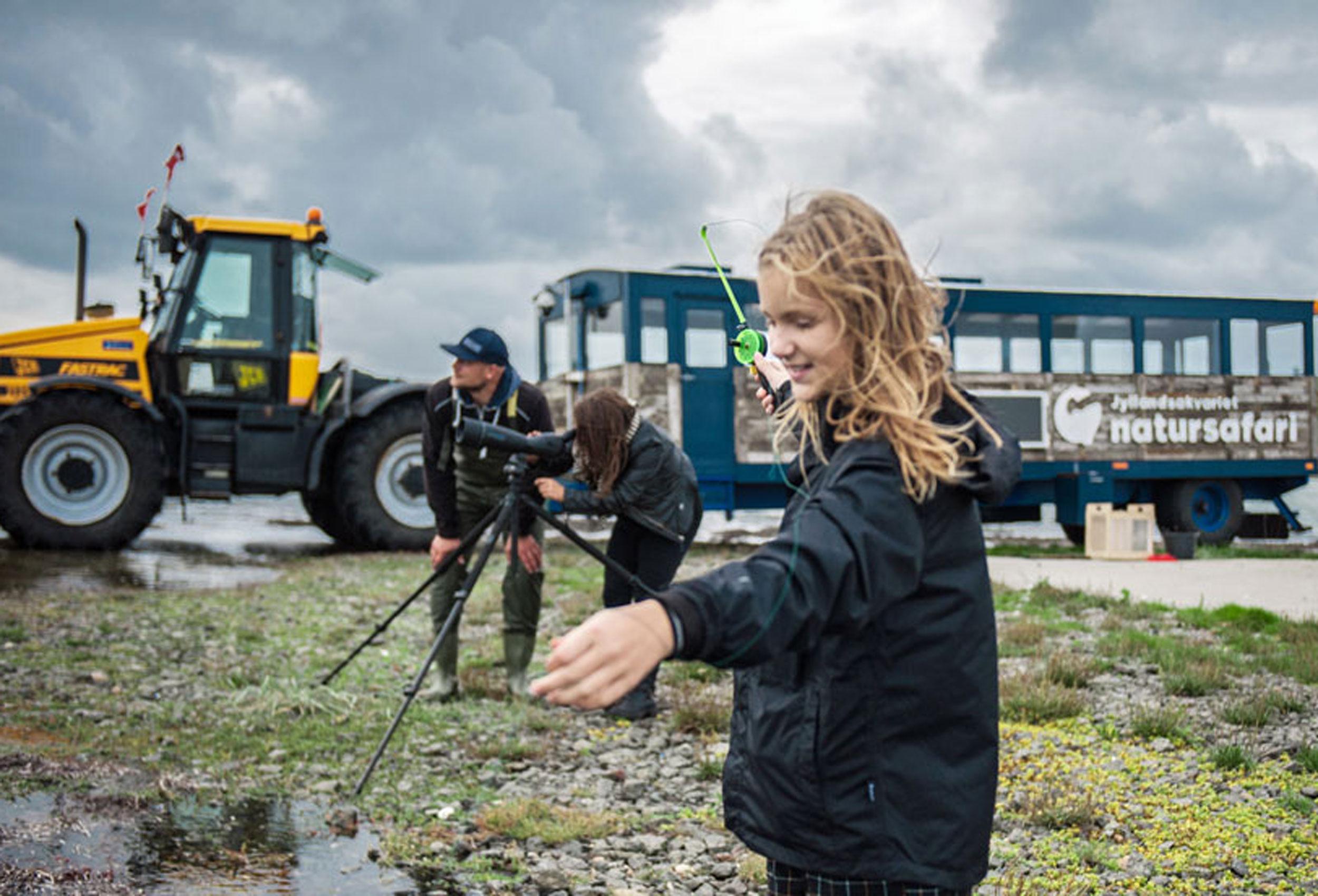Tag med JyllandsAkvariet på safari
